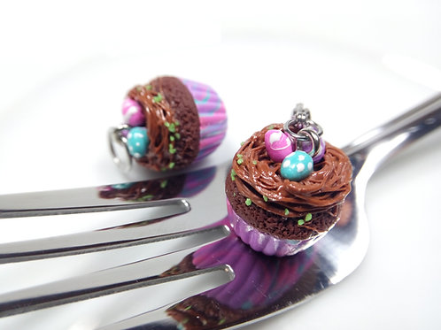 Easter Nest Cupcake Charm