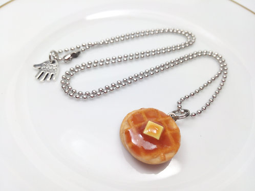 Waffles Necklace