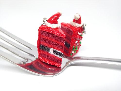 Santa Cake Charm