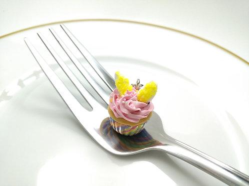 Bunny Cupcake Charm