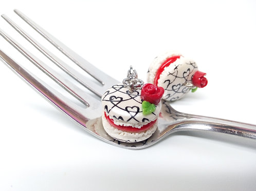 Valentine's Macaron Charm