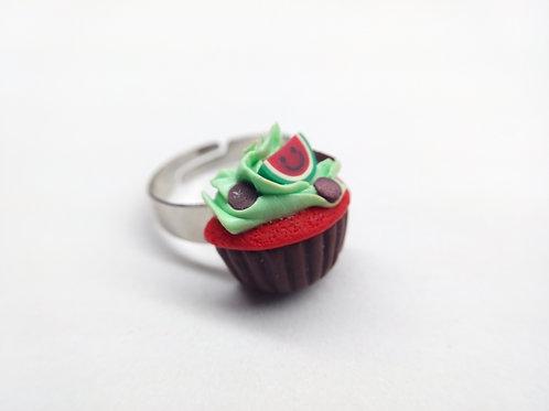 Watermelon Cupcake Ring