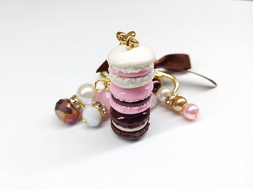 Neapolitan Macaron Purse/Planner Charm