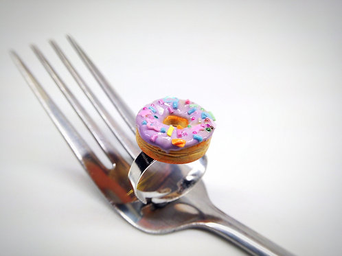 Lilacfetty Donut Ring