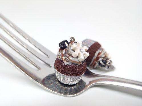 Winter Cupcake Charm
