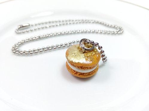 Golden Macaron Necklace