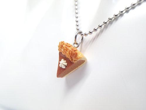 Pumpkin Pie Necklace