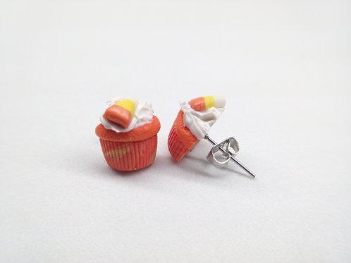 Candy Corn Cupcake Studs