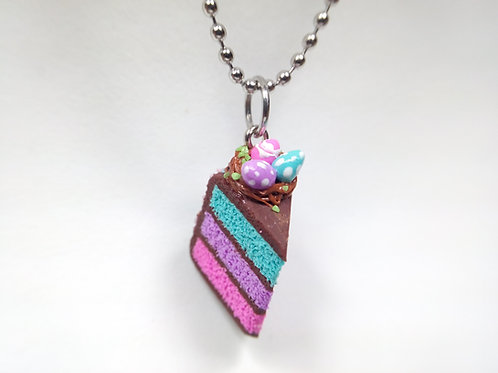 Easter Cake Necklace