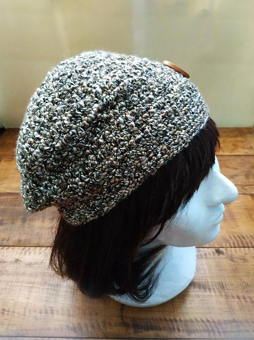 Elegant Crochet Slouchy Beanie