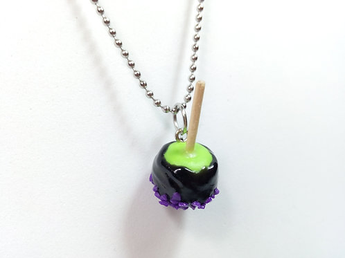 Poison Candy Apple Necklace