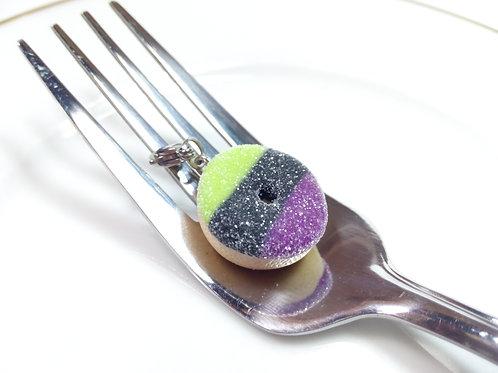 Zombie Candycorn Donut Charm