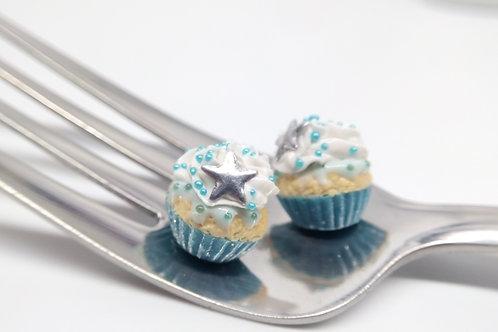 Winterland Cupcake Studs