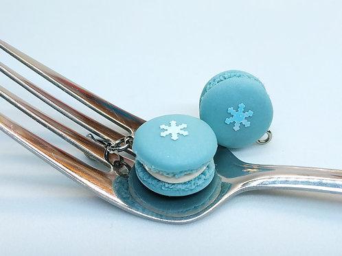 Snowflake Macaron