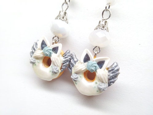 Pegasus Donut Dangle Earrings