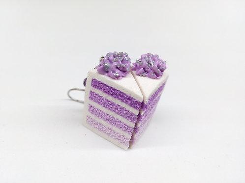 Purple Ombre Cake Charm