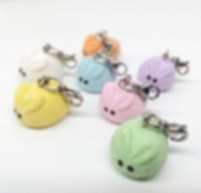 easter bny pep charm, handmade peep charms