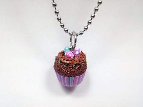 Easter Cupcake Necklace