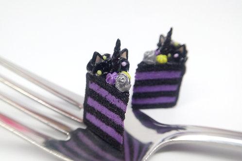 Maleficent Unicorn Cake