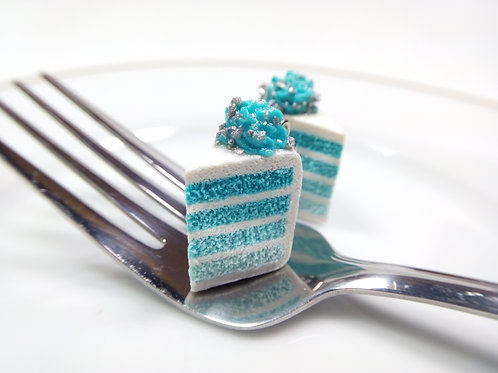 Blue Ombre Cake Charm