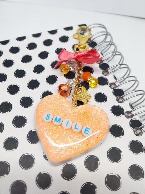Smile Heart Keychain