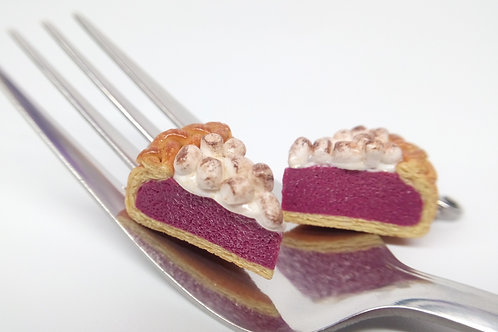 Taro Marshmallow Pie