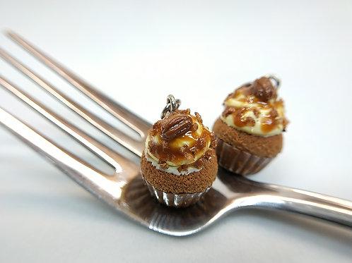 Pecan Caramel Cupcake