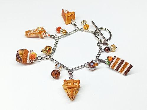 Fall Charm Bracelet