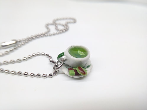 Green Tea & Lime Necklace
