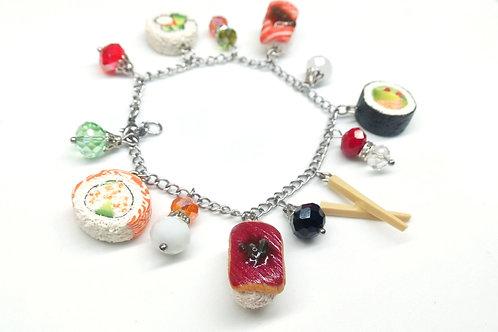 Sushi Charm Bracelet