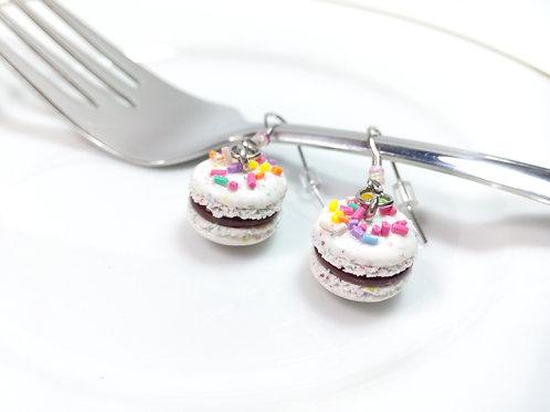 Confetti Macaron Earrings