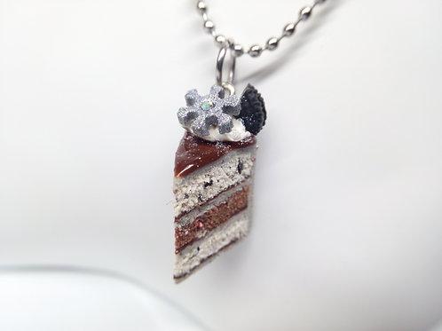 Winter Cake Necklace