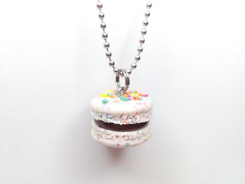 Confetti Macaron Necklace