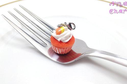 Candycorn Cupcake Charm