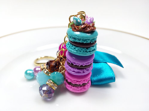 Easter Macaron Stack Planner Charm