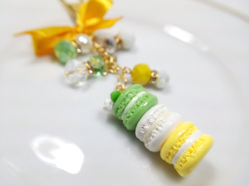 Spring Floral Macaron Stack Planner Charm