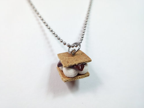 S'more Necklace
