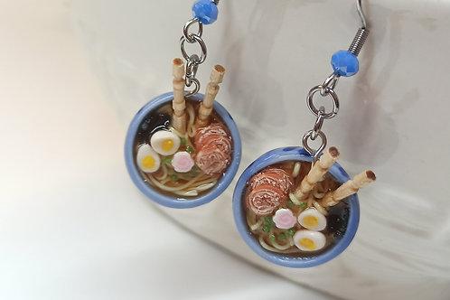 Pork Ramen Dangle Earrings