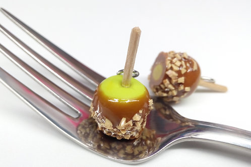 Caramel Apple Charm
