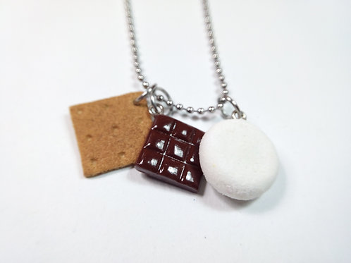 S'more Charm Necklace