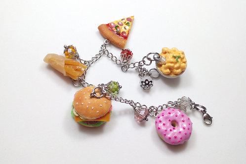 Foodie Charm Bracelet
