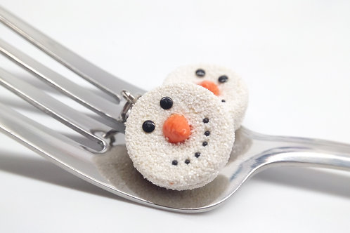 Snowman Donut
