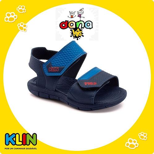 Sandália Tic Tac Marinho/Azul