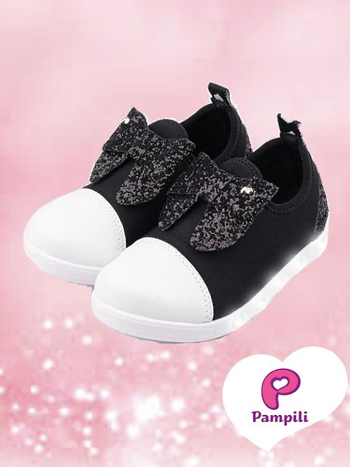 Tênis Sneaker Luz - Preto