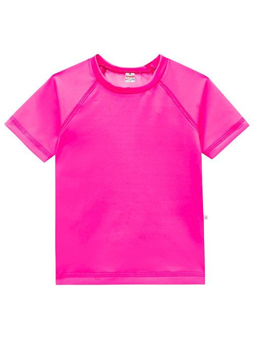 Camiseta malha UV Rosa Neon 1 - 3