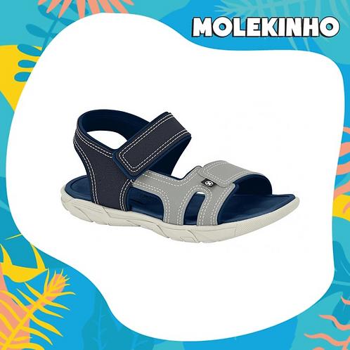 Sandália masculina - Cinza/Marinho