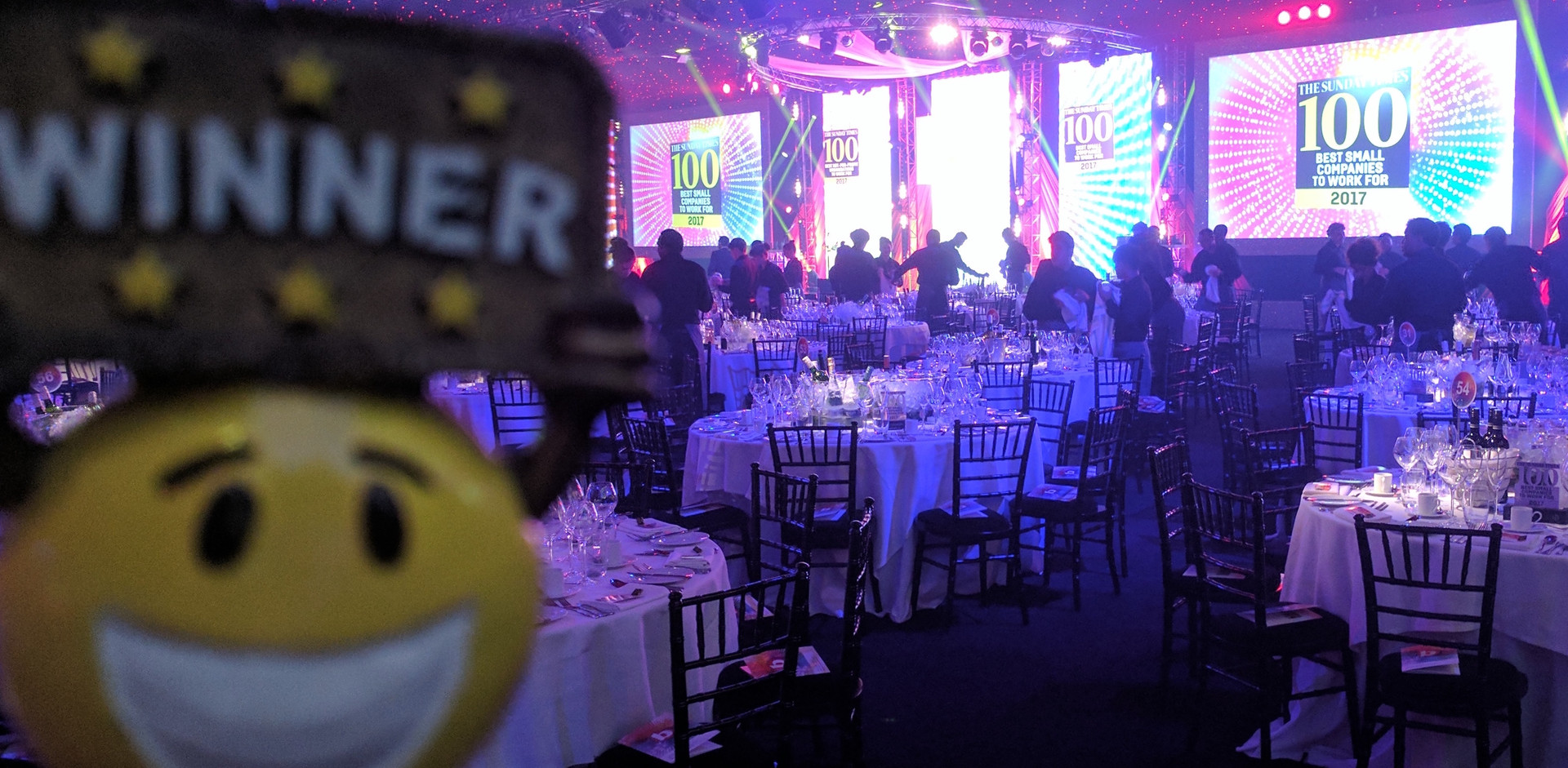 The Times Best Companies Awards... did Team Thompson win?