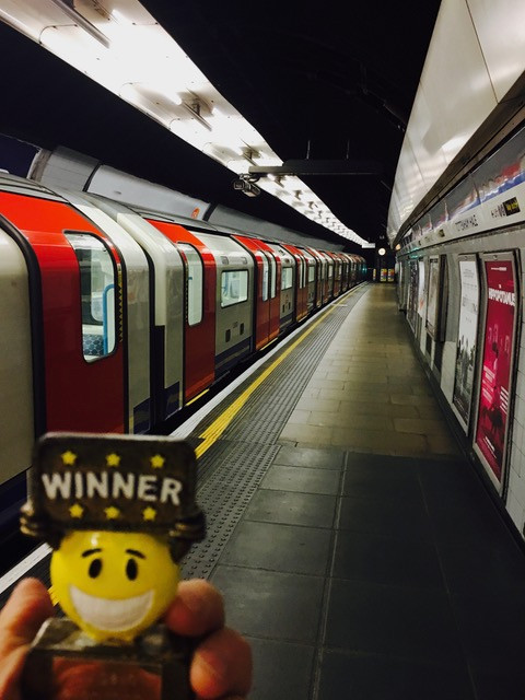 WIGGY MADE IT TO LONDON