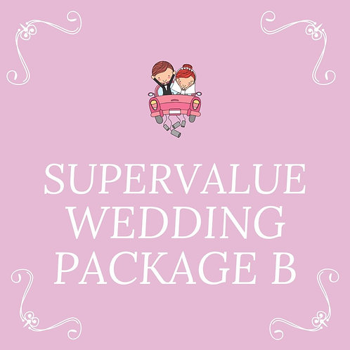 SUPER VALUE WEDDING PACKAGES FOR 75 PAX