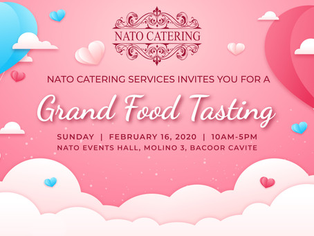 Thank You & See You Again At Our Next GRAND FOOD TASTING
